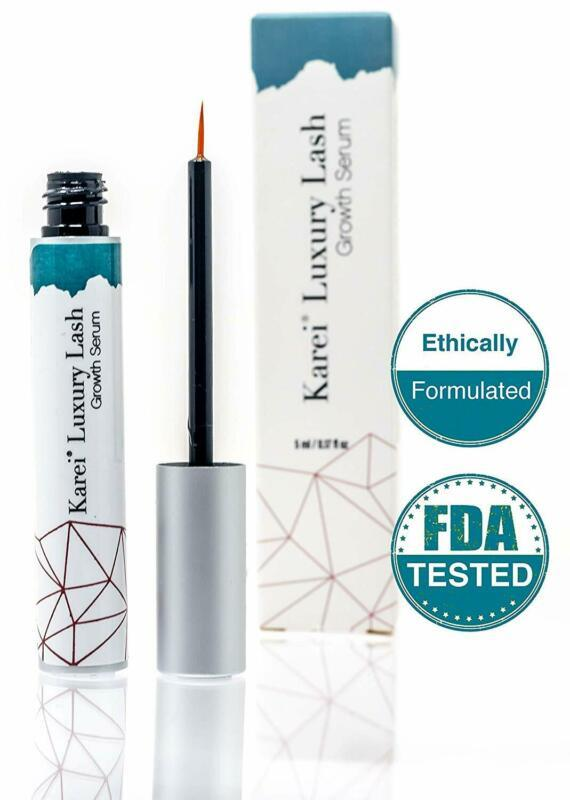 Luxury Lash Professional Eyelash Growth Serum By Karei   Cosmetologist Approved