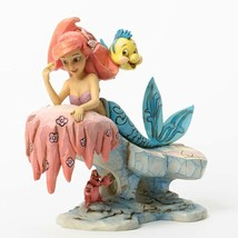 "6.25"" ""Dreaming Under the Sea"" Little Mermaid - Jim Shore Disney Traditions image 2"