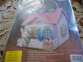 Bucilla Easter Bunny House Basket Kit 61235 - $55.00