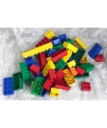 LEGO DUPLO Building Blocks Bulk Lot  1lb. 7 oz. 59 Pieces - $28.04