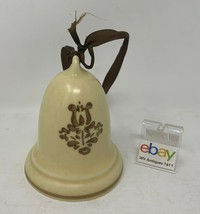 "Pfaltzgraff USA ""Village"" 1988 Merry Christmas Bell Ornament / Decoration Nice! - $26.99"