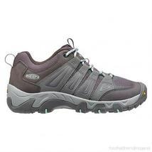 Keen Oakridge Gray/Clear Aqua Women's Hiking Shoes Sz 8 M ***New*** image 3