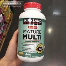 Sealed Kirkland Signature Adults 50+ Mature Multi, 400 Tablets - $23.22