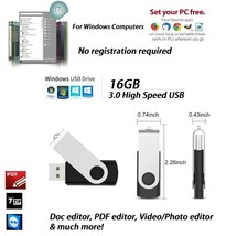 Portable Apps USB 3.0 Multiple Software PDF, Video, Music, Photo Editor,... - $12.99