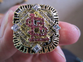 2006 St.Louis CARDINALS,18K Gold Filled, World Series Champions Fans RING--LPG72 - $19.90