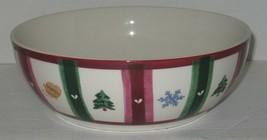 "Pfaltzgraff Holiday Christmas 9 1/4"" Round Serving Bowl - $17.82"