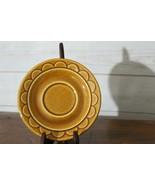 Homer Laughlin Golden Harvest SR118 Pattern Floral Saucer bfe0158 - $7.07
