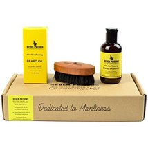 Seven Potions Beard Grooming Set Woodland Harmony. Beard Oil, Beard Shampoo and  image 6
