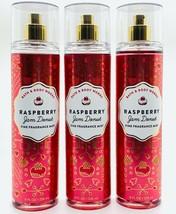 3-Pack Bath Body Works Raspberry Jam Donut Fine Fragrance Mist Spray 8 f... - $37.04