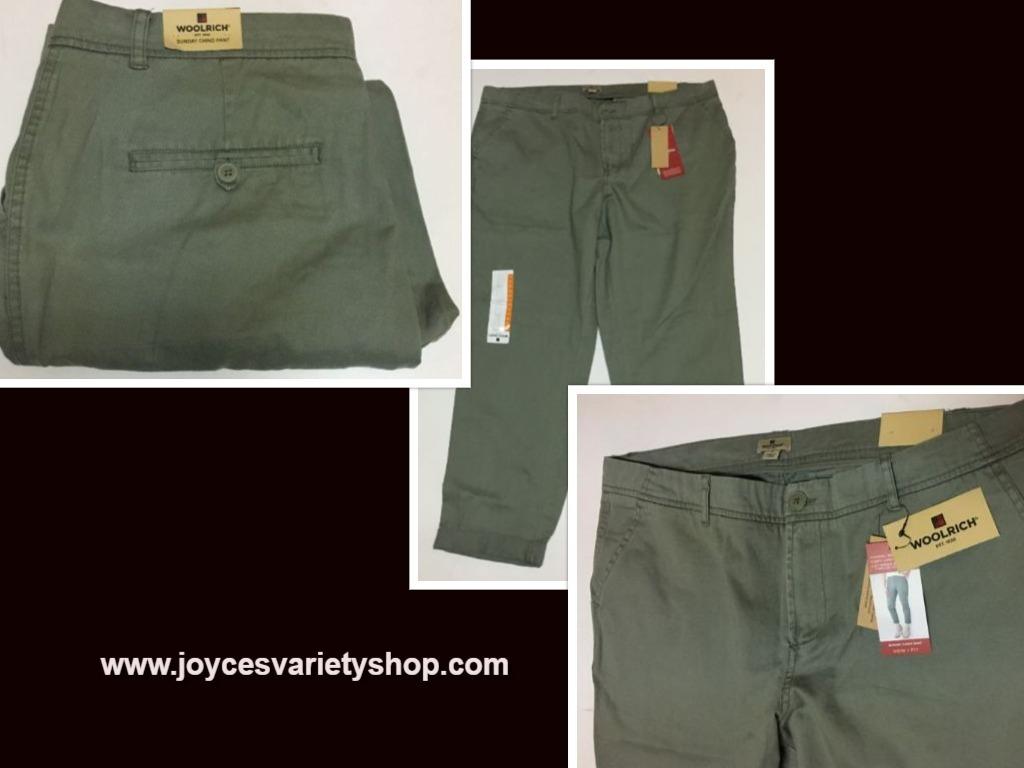 Woolrich sunday chino pants web collage