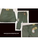 Woolrich Sunday Chino Pants Sz 12 Sage Green NWT - $16.99