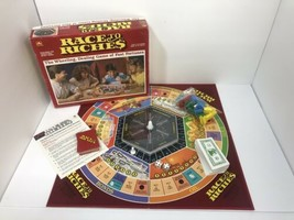 Vintage Race to Riches Board Game Complete - $14.84