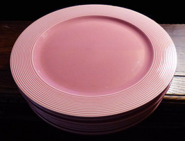 """Set of 7 Johnson Brothers Bros Portugal Pink Charger Plates 12-1/2"""" - $69.95"""