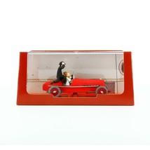 Tintin red racing car Voiture Tintin Cars Atlas 1/43 image 2