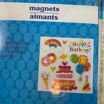 Refrigerator Magnets Cake Balloons Doughnuts - $5.50