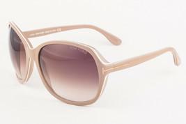 Tom Ford SHEILA 186 59F Beige / Brown Gradient Sunglasses TF186 59F 62mm - $185.22
