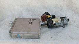99 Accord 2.3L ATX ECU ECM Engine Control Module 37820-PAA-L61 w/ Igntion Switch image 6