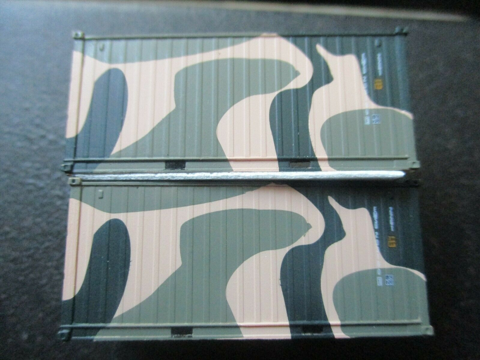 Jacksonville Terminal Company # 205398 EMSU Camo A 20; Container Military Series