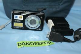 Sony Cyber-shot DSC-W230 12.1MP Digital Camera - Black - $59.39