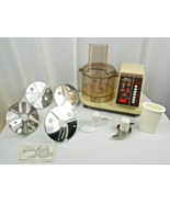 Rare VINTAGE Sears Counter Craft Food Processor w/ Accessories Model 400... - $49.99