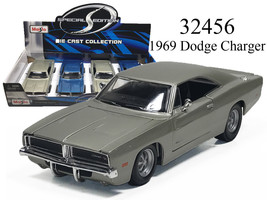 New MAISTO 1/24 - 1969 DODGE CHARGER DIECAST CAR CHOOSE COLOR - $19.95