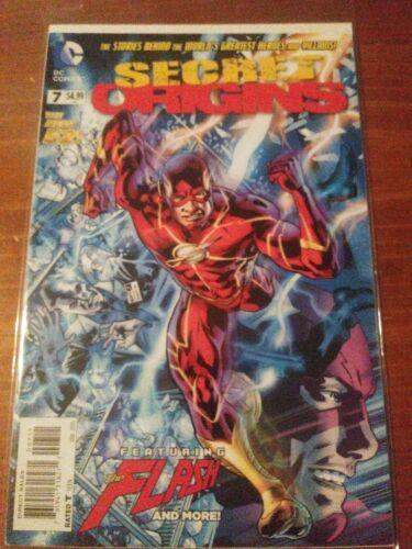 Secret origins #7 January 2015 the New 52