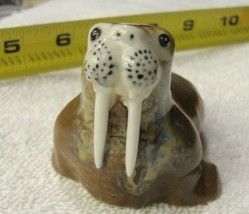 WALRUS, CUTE, WALLY, NEEDS A NEW HOME, FREE SHIPPING,NEEDS A NEW HOME, - $12.59