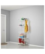 """IKEA MULIG Shelf unit, white, 22 7/8x13 3/8x63 3/4 """" - $65.33"""