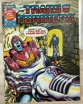 TRANSFORMERS #132 (1987) Marvel UK comics includes Spider-Man mini-comic VG+ - £8.87 GBP