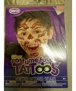 Glow Costume Face Tattoos - 16 Temporary Tattoos - $4.89