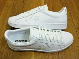 Converse Mens PL 76 Ox Leather Triple White Shoes Classic Size 11.5 NEW ... - $59.39