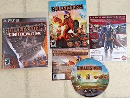 Bulletstorm Limited Edition for Playstation 3, PS3, Good condition w/ ma... - $11.07