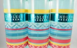 (3) Bath & Body Works Endless Weekend Summer Fragrance Mist 8oz New Full... - $28.49