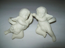 2 New In Box Partylite Cherub Candle Followers Holders To Put On Candles - $9.79