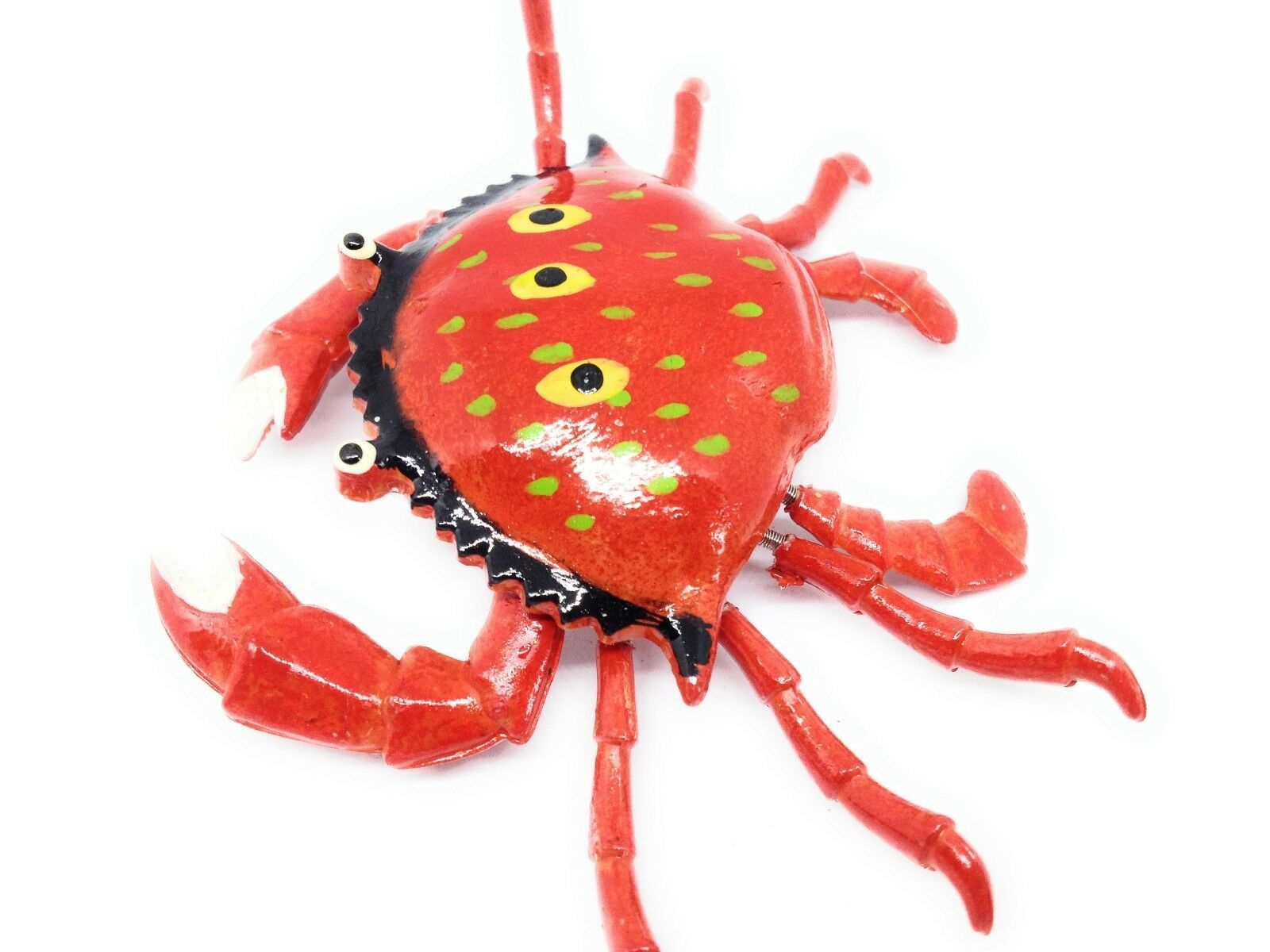 Fussel Tanzende Rot Krabbe Kühlschrank Magnet Küchen Dekor Meer Tiere