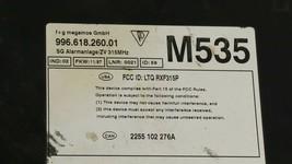 Porsche 986 Boxster Anti Theft Alarm Control Module Immobilizer 996.618.262.01 image 2