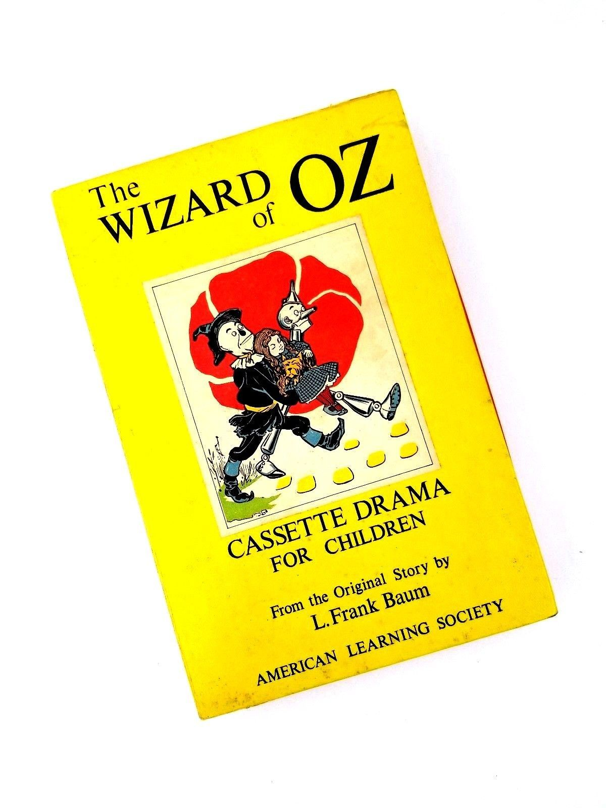 The Wizard of OZ Cassette Drama for Children by L. Frank Baum American Learning