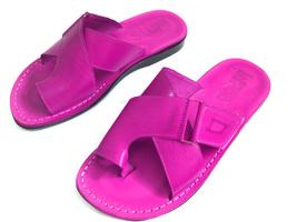 Leather Sandals for Men and Women BROOKLYN by SANDALIM Biblical Greek Su... - $39.44 CAD+