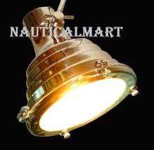 Designer Industrial Pendant Light Hanging Lamp Set Of 2 By NauticalMart - $157.41