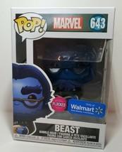 Funko Pop! Vinyl - Marvel 643 Beast -Flocked Walmart Exclusive- NEW - $16.00