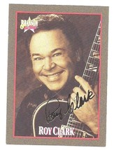 Roy Clark Card #6 Gold Signature Ltd Ed #7125 of 7500 Branson on Stage 1992 - $3.99