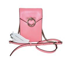 Rebecca Minkoff Crossbody Coral Pebble Leather Chain Handbag NWT - $122.55