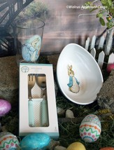 POTTERY BARN KIDS PETER RABBIT TABLETOP TRIO -NWT- FOR ADORABLE MISCHIEF... - $39.95