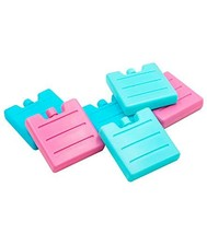 Blue Ele Reusable Ice Packs - Mini Size Ice Pack Coolers for Lunch Boxes... - $19.26 CAD