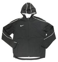 Nike Running Woven Full Zip Jacket Pockets Reflective Men's Large AJ3654... - $59.69