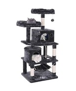 BEWISHOME Cat Tree Condo Tower Kitten Furniture Activity Center Pet Kitt... - $83.25