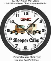 1960 GMC SLEEPER CABS SEMI-TRUCKS WALL CLOCK-FREE USA SHIP - $28.70+