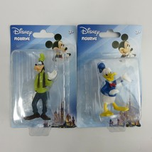 Disney Figurines Figure Beverly Hills Teddy Bear Co. GOOFY DONALD new 2 pck - $18.00