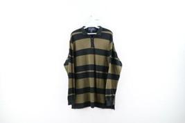 Vtg 90s Polo Sport Ralph Lauren Mens L Spell Out Color Block Pullover Sw... - $44.50