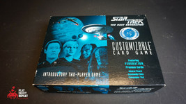 Star Trek The Next Generation TNG Customisable Card Game Federation Premium Card - $67.96